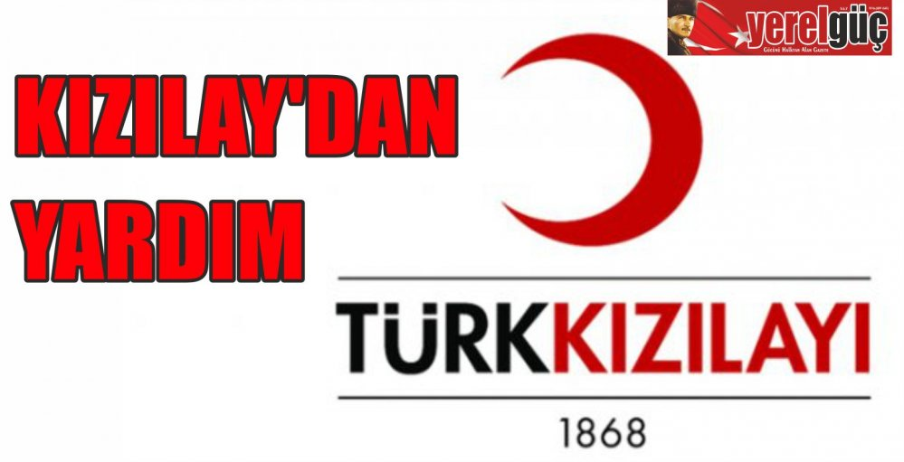 KIZILAY'DAN YARDIM