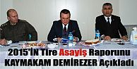 2015İN TİRE ASAYİŞ RAPORU