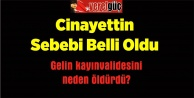 Cinayettin Sebebi Belli Oldu