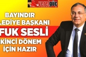 Bayındır'da Başkan Dr. Ufuk Sesli ikinci döneme hazır !